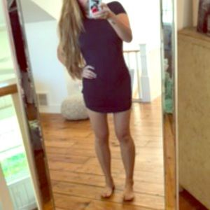 Dresses & Skirts - Navy blue mini dress
